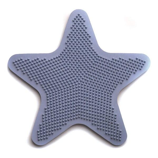 Zestaw 6 mat dekoracyjnych do łazienki Star Blue
