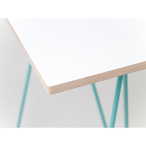 Blat do stołu Flat 150x75 cm, biały