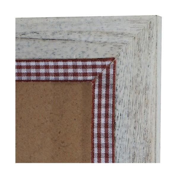 Biała ramka na zdjęcia Mendler Shabby, 36x51 cm