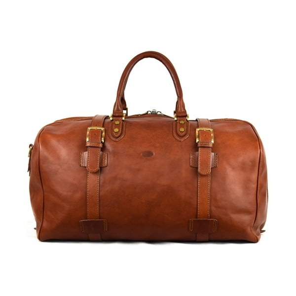 Skórzana torba Santo Croce 82939 Brown