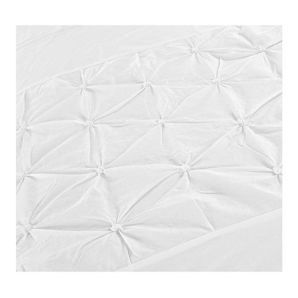 Biała pościel z perkalu Dreamhouse Bahama, 240x220cm