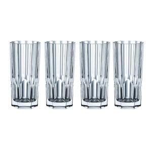 Komplet 4 szklanek ze szkła kryształowego Nachtmann Aspen, 309 ml