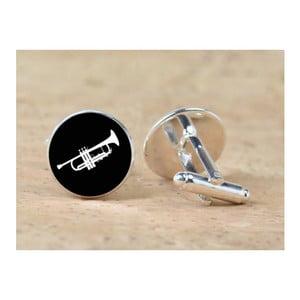 Zestaw 2 spinek do mankietów Butoni de Camasa Trumpet