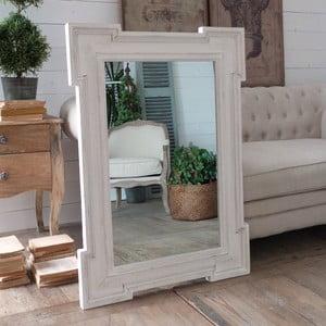 Lustro White Antique, 75x105 cm