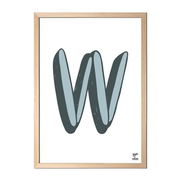 Plakat W designed by Karolina Stryková