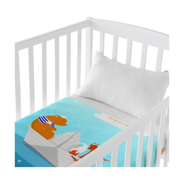 Dziecięca narzuta z poszewką na poduszkę Baleno Adventure, 120x180 cm