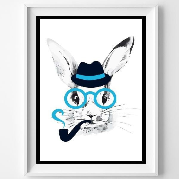 Plakat Mr. Rabbit, A3