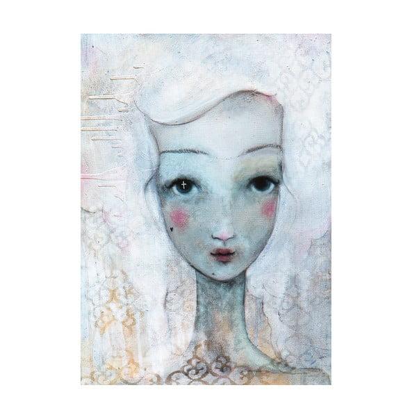 Plakat autorski: Léna Brauner Odległa, 46x60 cm