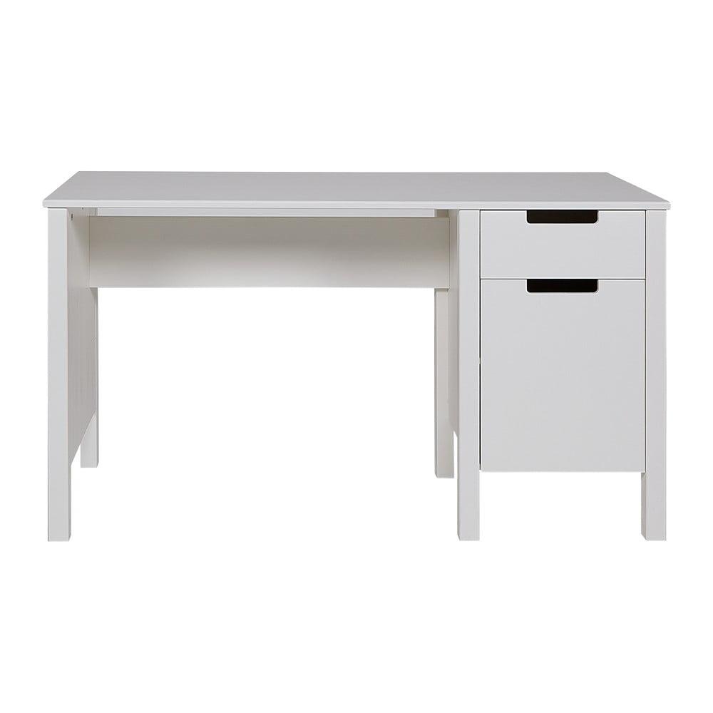 Białe biurko WOOOD Jade