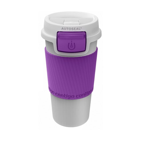 Kubek termiczny Morgan 360 ml, fioletowy