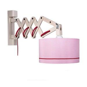 Lampa ścienna Pink Zickack