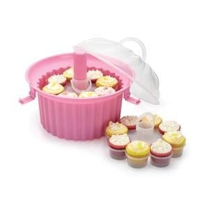 Trzypoziomowe naczynie na babeczki cupcake Sweetly Does It
