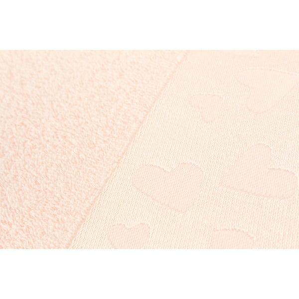 Komplet 2 ręczników Kalp Salmon, 50x90 cm