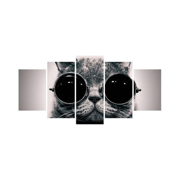 Wieloczęściowy obraz Black&White no. 59, 100x50 cm