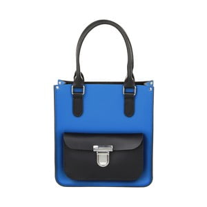 Skórzana torebka Taylor Mini Royal Blue/Black