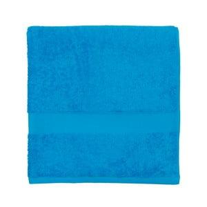 Niebieski ręcznik frotte Walra Frottier, 70x140cm