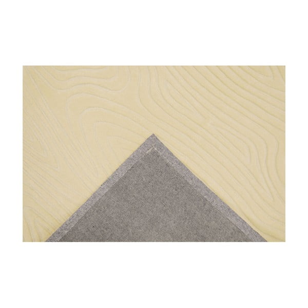 Dywan ręcznie tkany Zen, 140x200 cm, beżowy