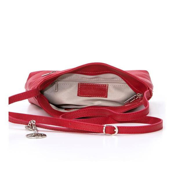 Skórzana torebka Francesco, czerwona