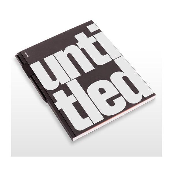 Szkicownik z ołówkiem Untitled, 21x29,7 cm