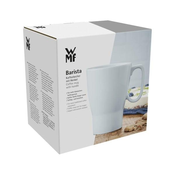 Porcelanowa filiżanka do kawy z uchem WMF Barista, wys. 15 cm