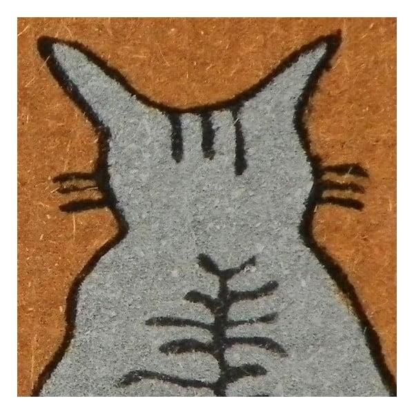 Wycieraczka Waiting Cats, 75x45 cm