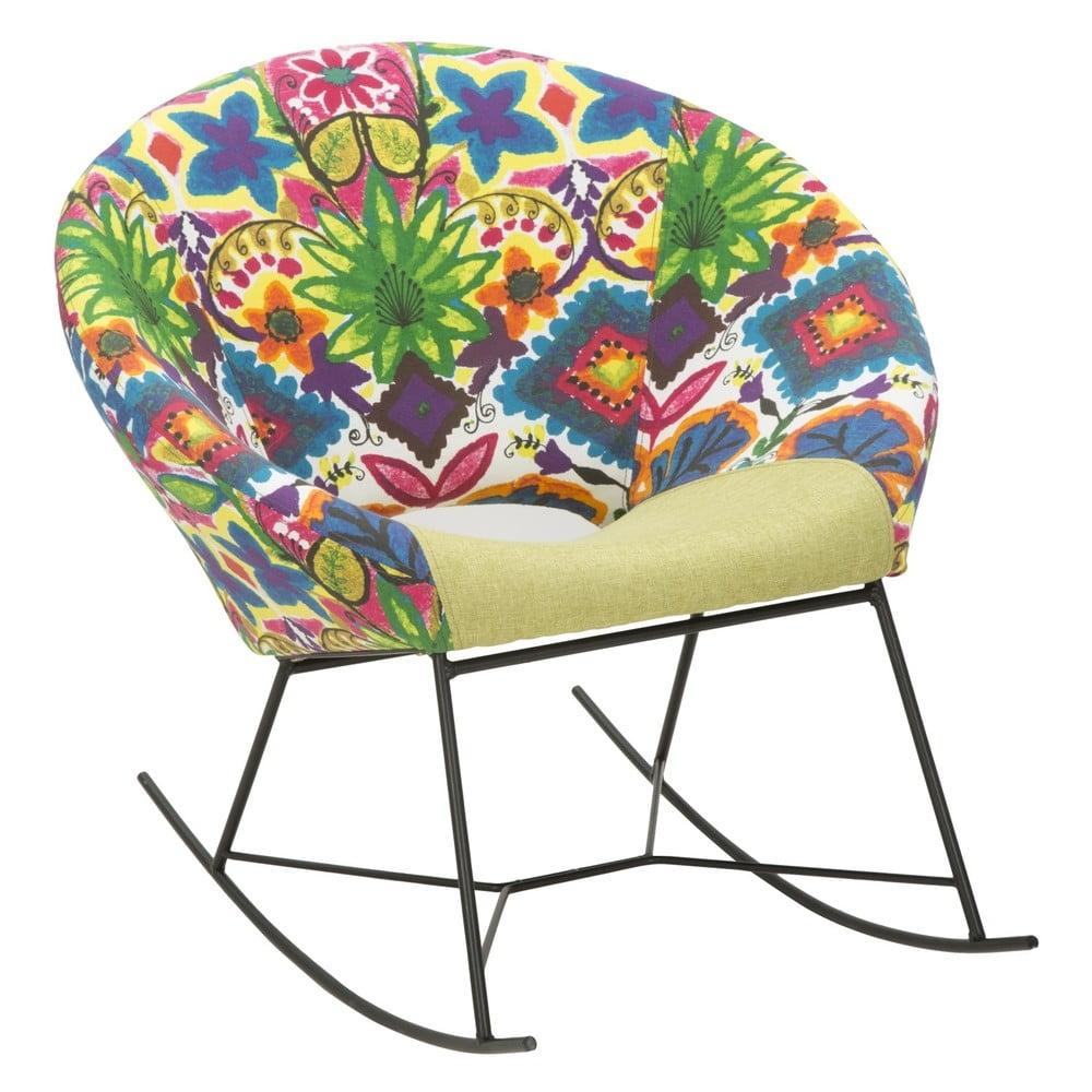 Fotel bujany z drewna kauczukowca Mauro Ferretti Hippie