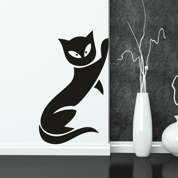 Naklejka ścienna Kot, prawa strona