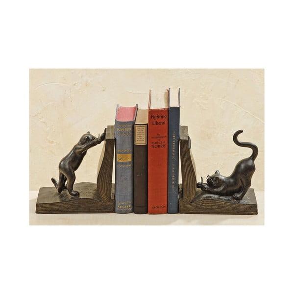 Podpórki do książek Cat