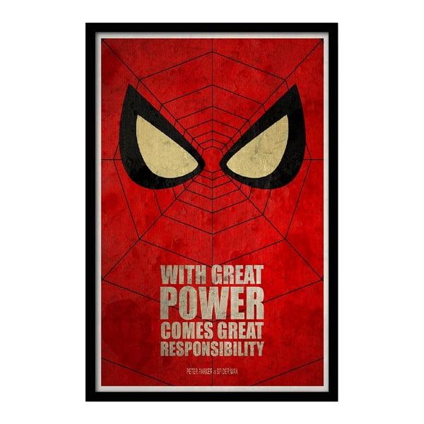 Plakat Great Power, 35x30 cm