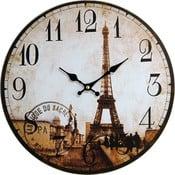 Zegar Eiffel, 34 cm