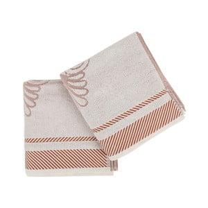 Zestaw 2 ręczników Durga, 50x100cm