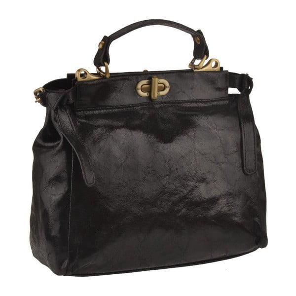 Czarna torebka skórzana Florence Electra