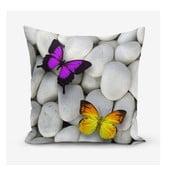 Poszewka na poduszkę z domieszką bawełny Minimalist Cushion Covers Double Butterfly, 45x45 cm