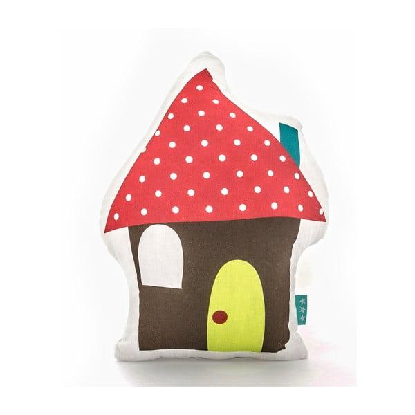 Poduszka bawełniana Mr. Fox Happy Homes 40x30 cm