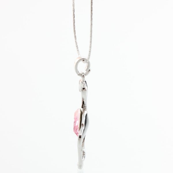 Naszyjnik z kryształami Swarovski Elements Laura Bruni Flaming