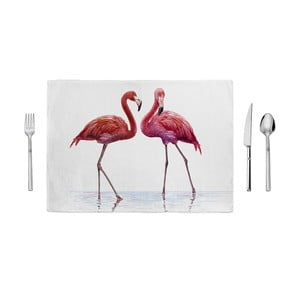 Mata kuchenna Home de Bleu Tropical Talking Flamingos, 35x49 cm