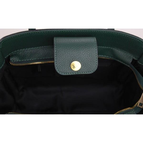 Skórzana torebka Borsa Verde