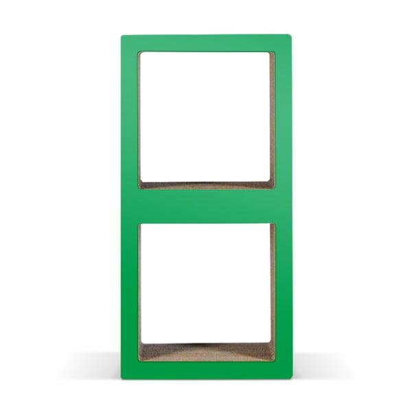 Kartonowa biblioteczka Bit Due Green