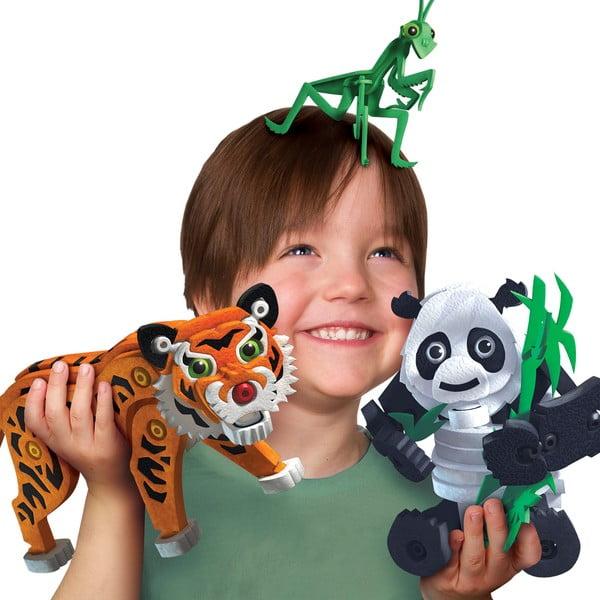 Klocki Tygrys i Panda
