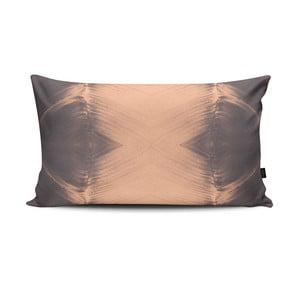 Poduszka Antimony II Grey Pink, 47x28 cm