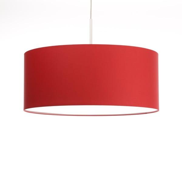 Czerwona lampa wisząca 4room Artist, zmienna długość, Ø 60 cm