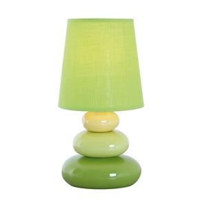 Lampa stołowa Stoff, zielona