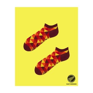 Skarpetki Flame Triangles Low, 35/38