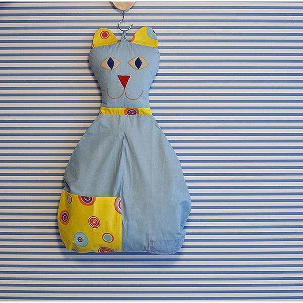 Kieszeń bawełniana Kotka, niebieska