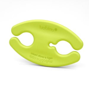 Zielony klips na kable Bobino Cord Wrap, S