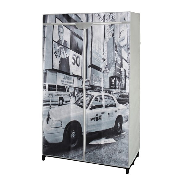 Materiałowa szafa na ubrania New York Taxi