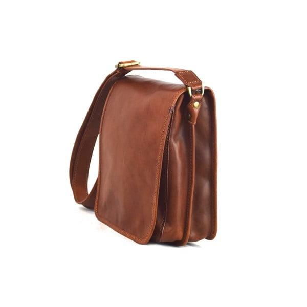 Skórzana torebka Santo Croce 8803 Brown