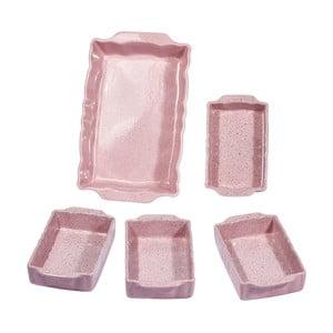 Zestaw 5 pojemników ceramicznych Sweets