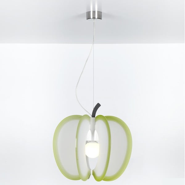 Lampa wisząca Mela Emporium, zielona