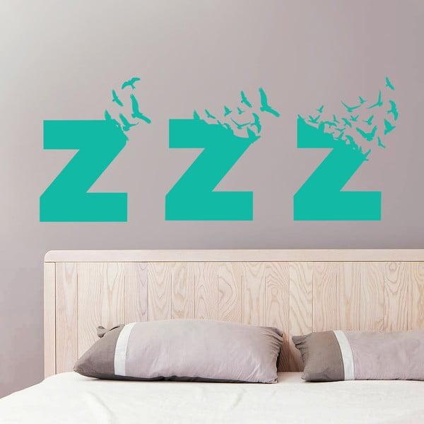 Naklejka ścienna Sleeps Birds, 70x50 cm